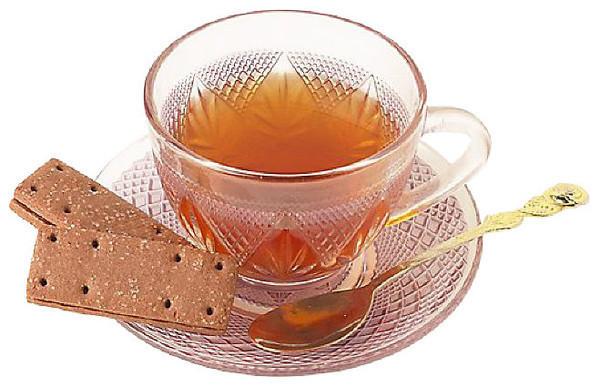 un petit thé avec biscuit