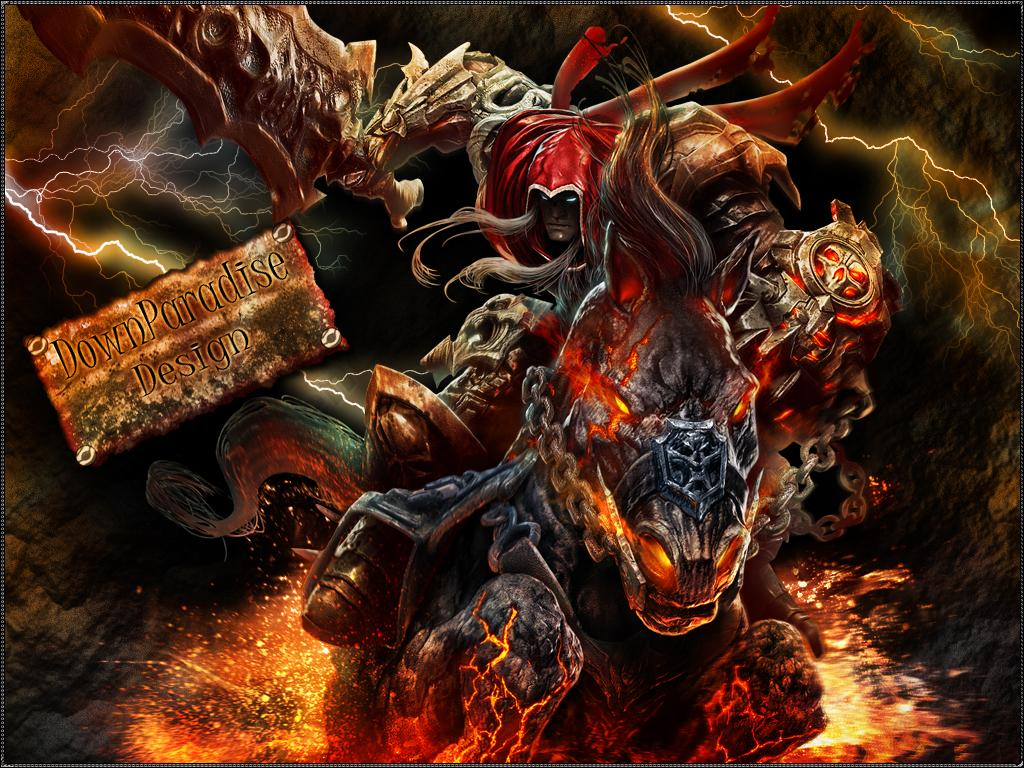 Darksiders War Wallpaper By: Darksiders Wrath Of War